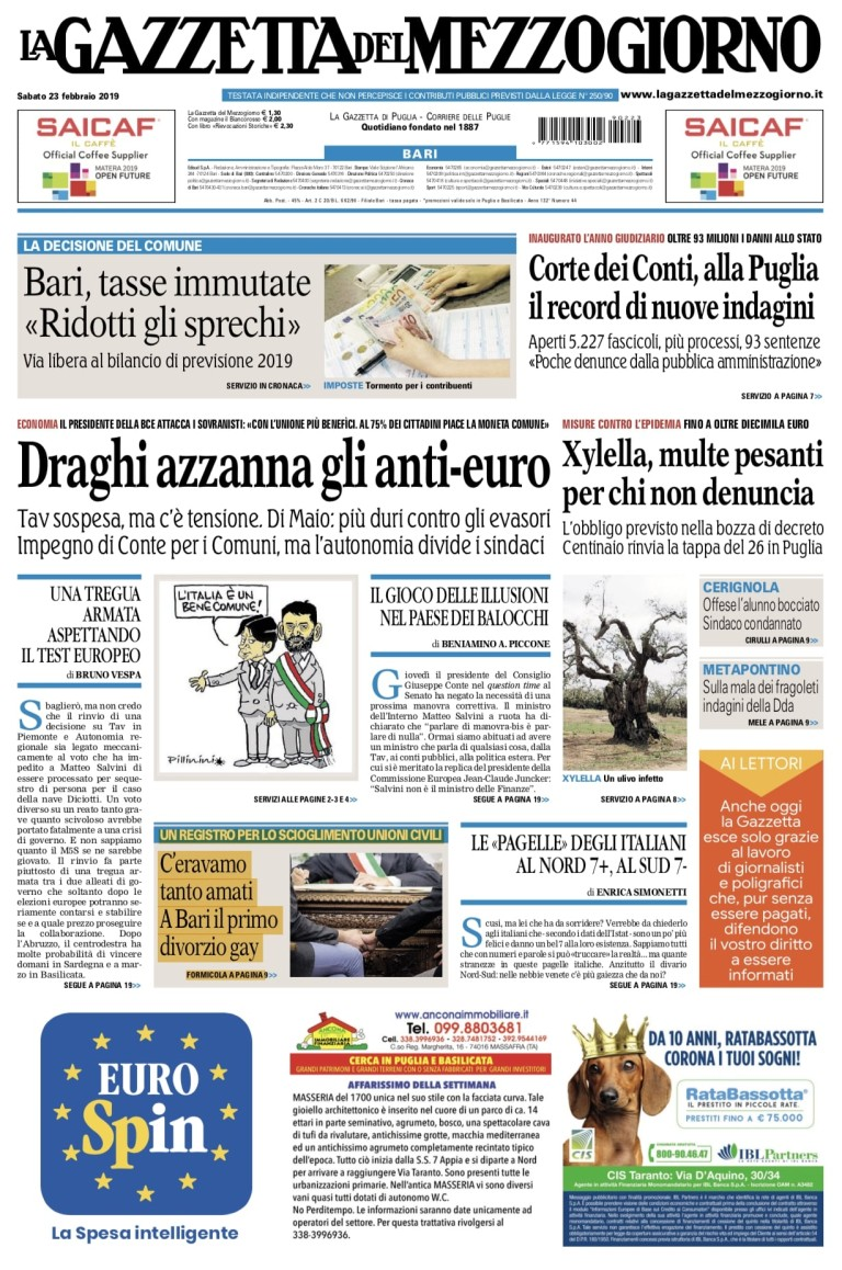 24 - prima pagina